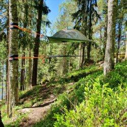 erdei szállás